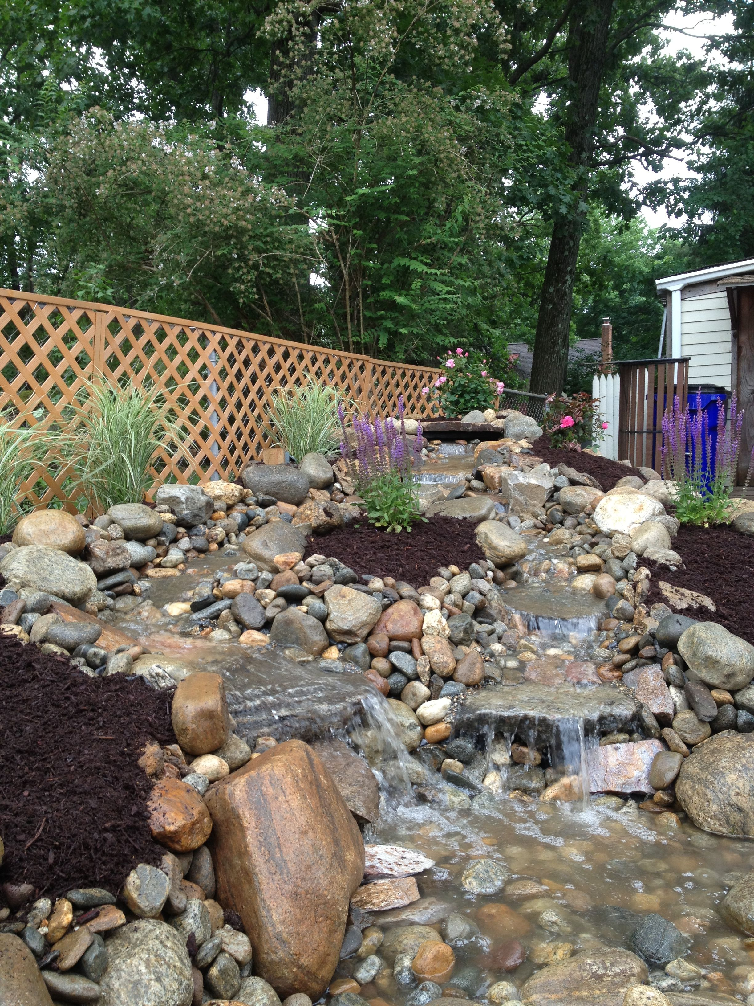 Learn More About Bahler Brothers Custom Designed Pondless Water Features
