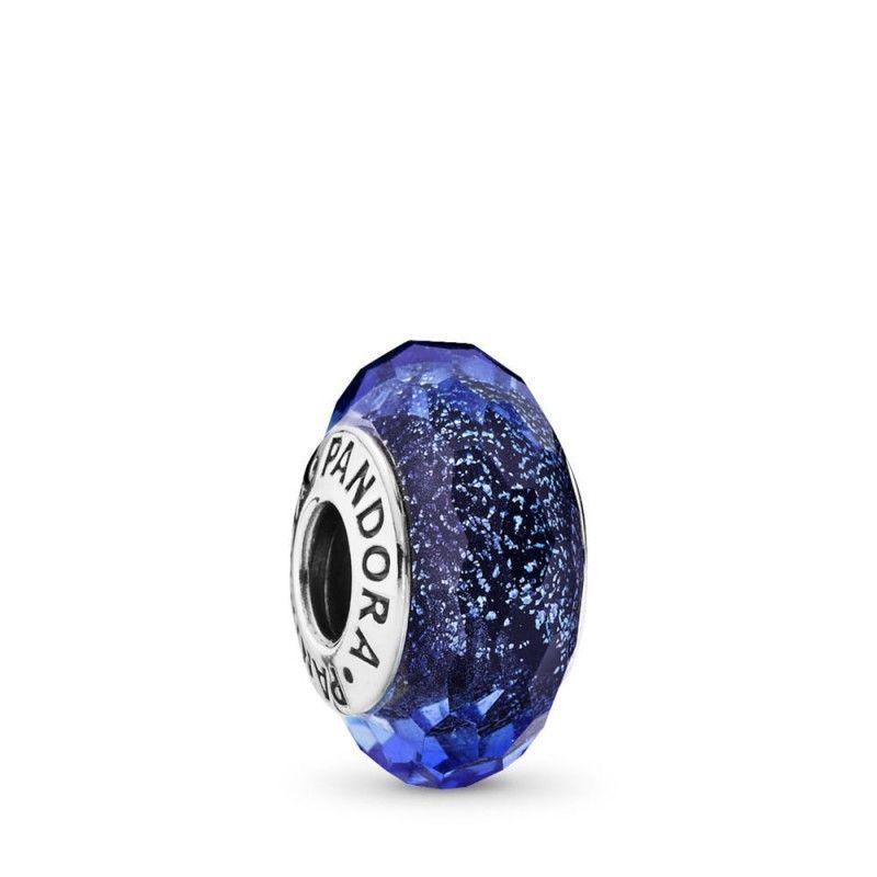 Charms Pandora Bleu Pétrole,Bracelet Pandora Charms Bleu,Charm ...