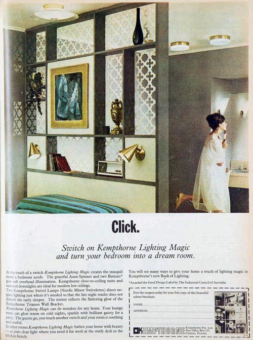 1965 interior design | retro interiors | Pinterest | Vintage stuff and  Interiors
