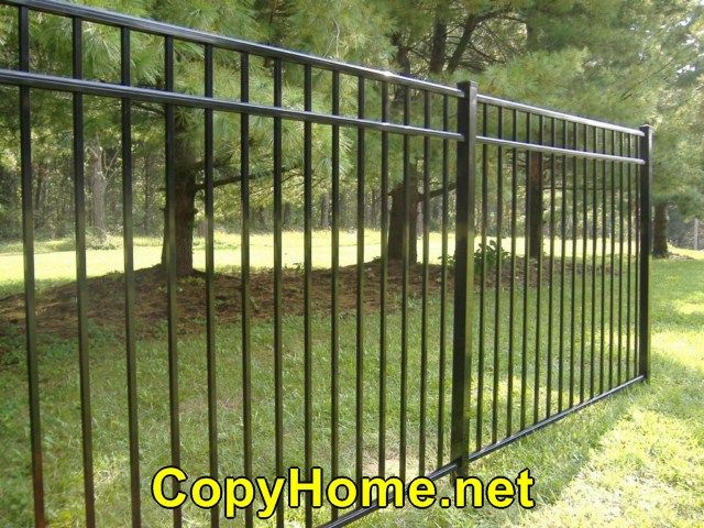 Amazing Aluminum Fence Looks Like Wrought Iron With Images