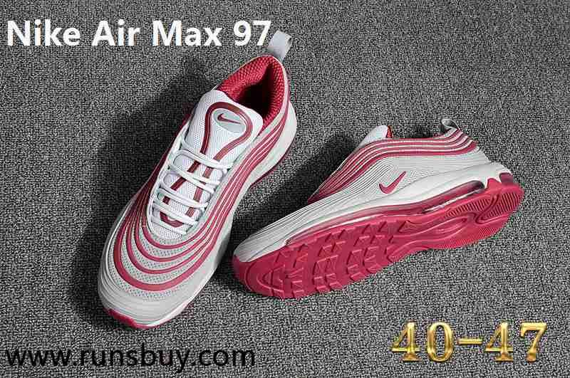 New Nike Air Max 97 KPU 3+ OG QS Premium Grey Red | Shoes