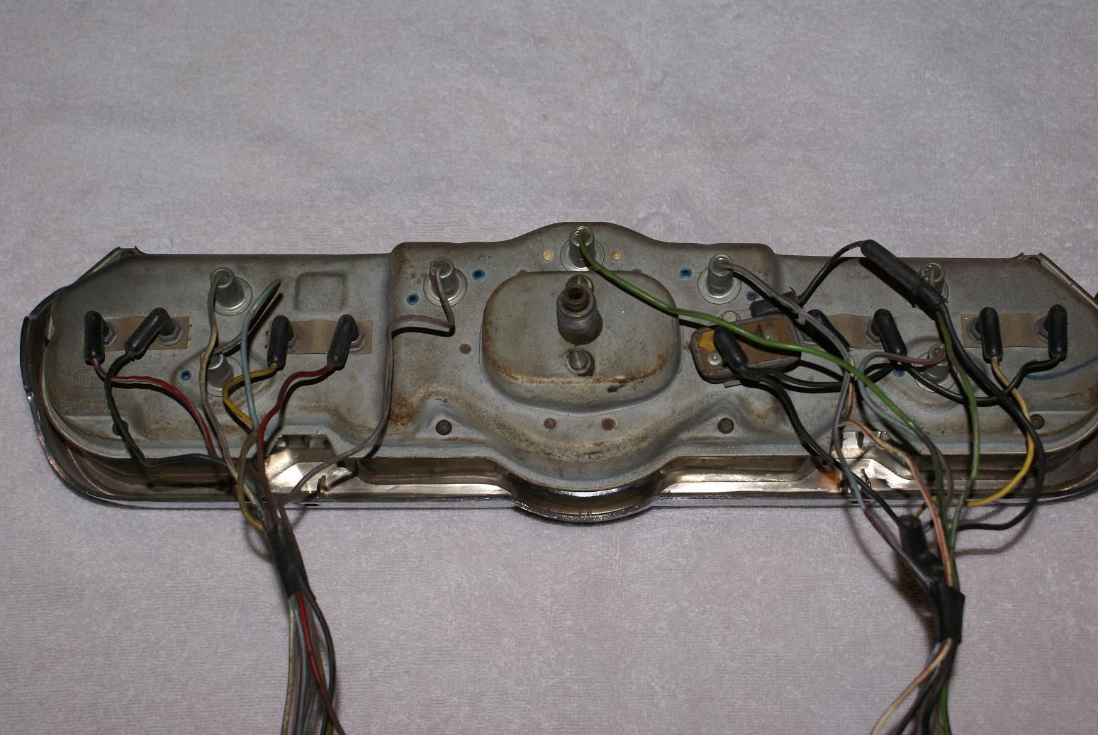 1966 mustang fastback gauge wiring - google search