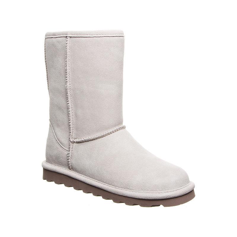 248a6246a0ec Bearpaw Womens Elle Winter Boots Flat Heel Pull-on
