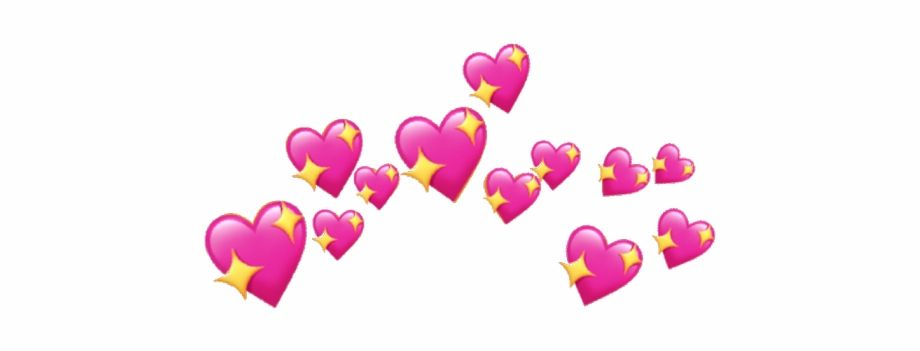 Aesthetic Pink Hearts Png Pink Tumblr Aesthetic Pink Heart Emoji Cartoon Heart