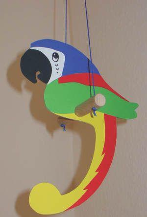 Papagei Papagei Bastelideen Kreative Ideen Fur Kinder