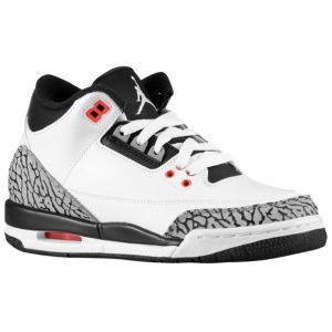 huge selection of 2f736 5d627 Jordan Retro 3 - Boys' Grade School - White/Black/Infrared ...