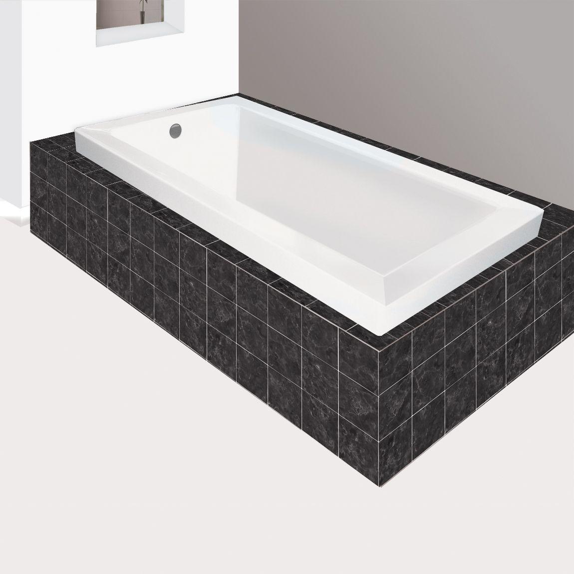 Shop Jade Bath BLW1023 6 Signature Portland Podium Soaker Tub At Loweu0027s  Canada. Find