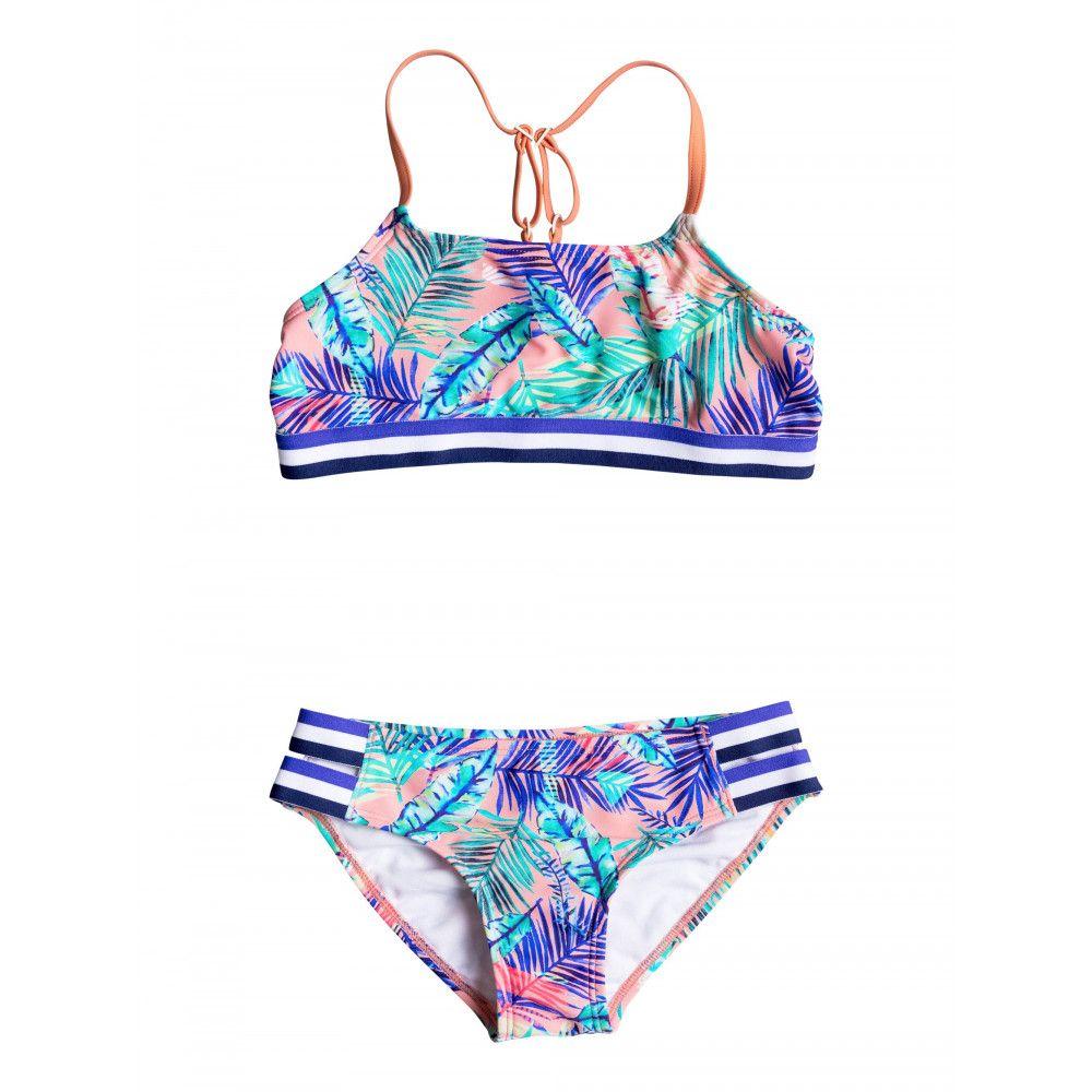 Girls 8-14 Retro Summer Halter Bikini Set | Swwimsuits | Pinterest ...