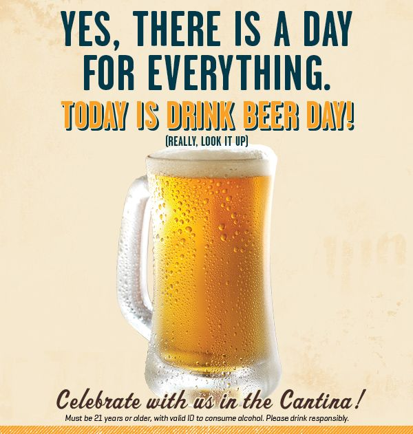 Celebrate National Drink Beer Day With Us Beer Day Drinking Beer National Drink Beer Day