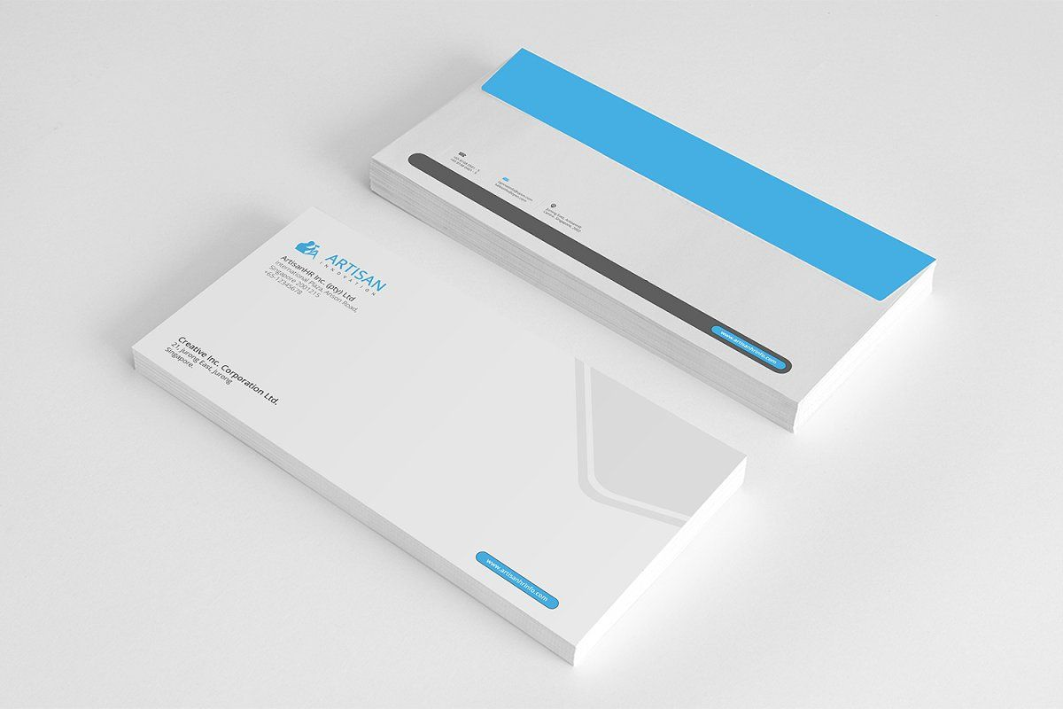 Corporate Identity #Sponsored , #attractive#stationary#clean#Corporate