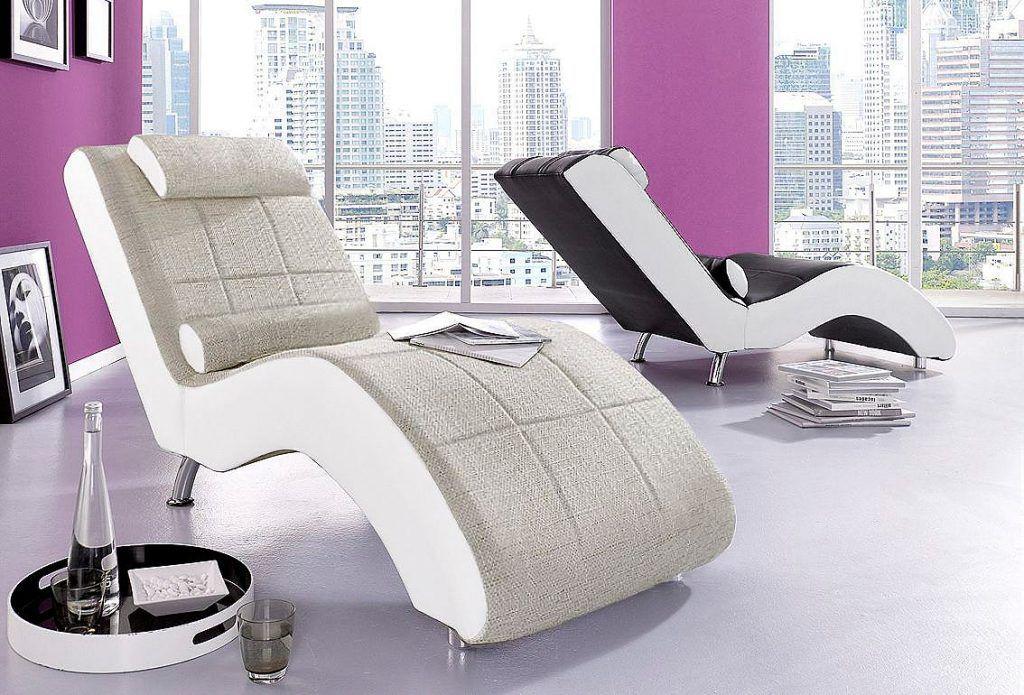 Relaxliege Wahlweise Mit Kippfunktion Natur In Elegantem Design Elegant