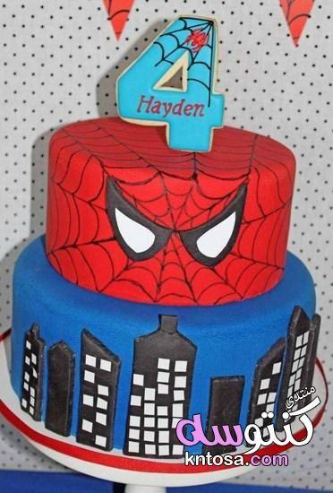 زينة حفلات أعياد الميلاد سبايدرمان Spider Man Cake تورتة عيد ميلاد سبايدر مان ديكورات اعياد Spiderman Birthday Party Spiderman Birthday Spiderman Birthday Cake
