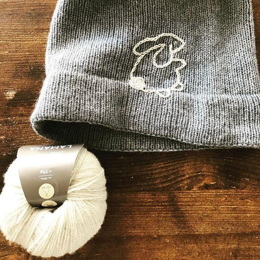 Hippity hoppity bunny hat shared on the Loveknitting Community. Find ...