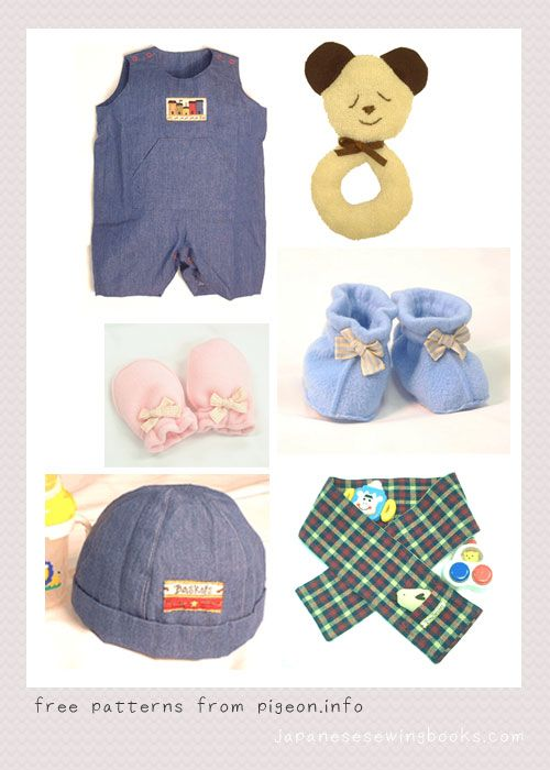Free Japanese Sewing Patterns – pigeon.info via www ...