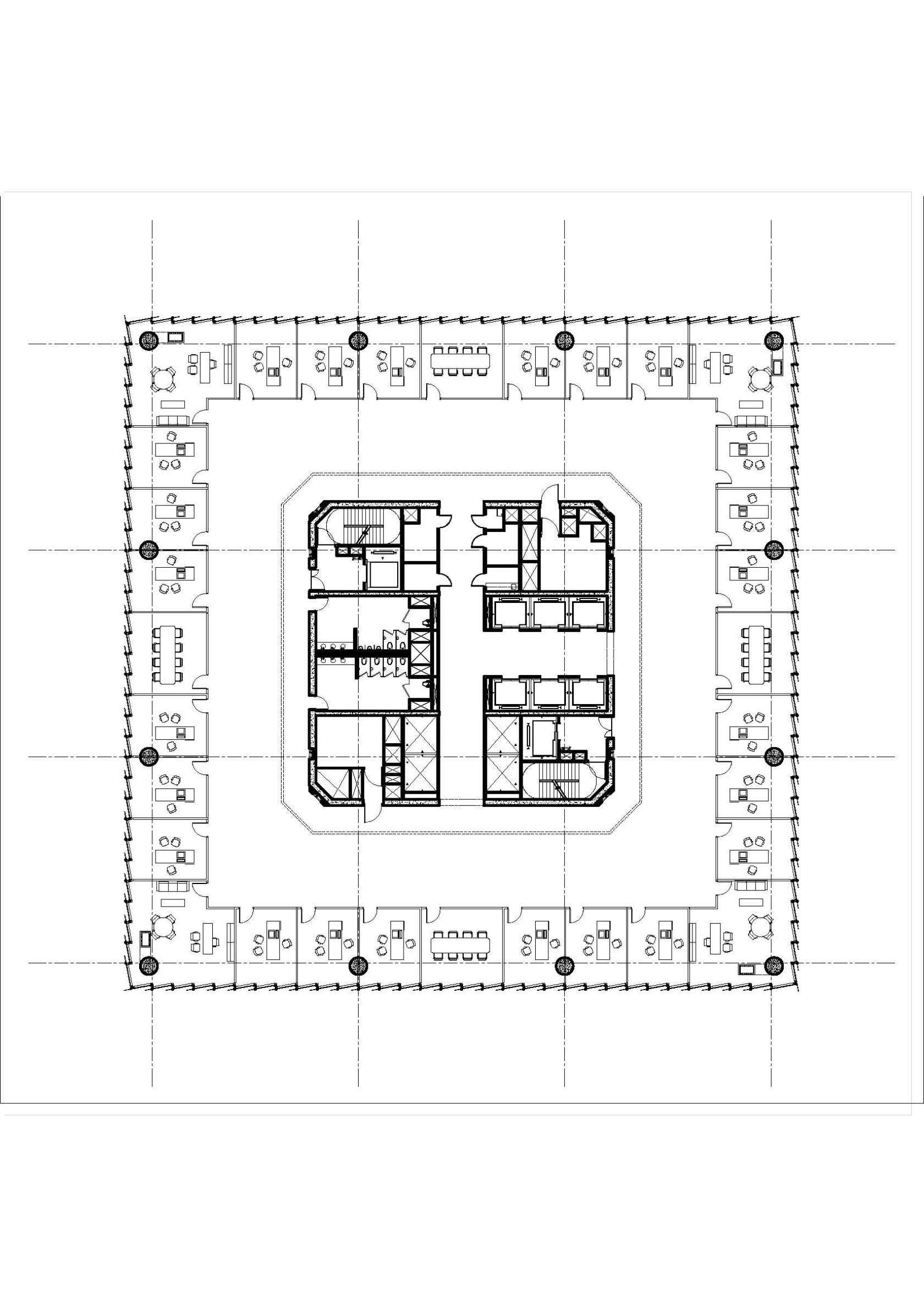 Leatop Plaza Murphy Jahn 270m Arsitektur
