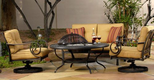 Santa Monica Collection by Woodard | Outdoor furniture ...