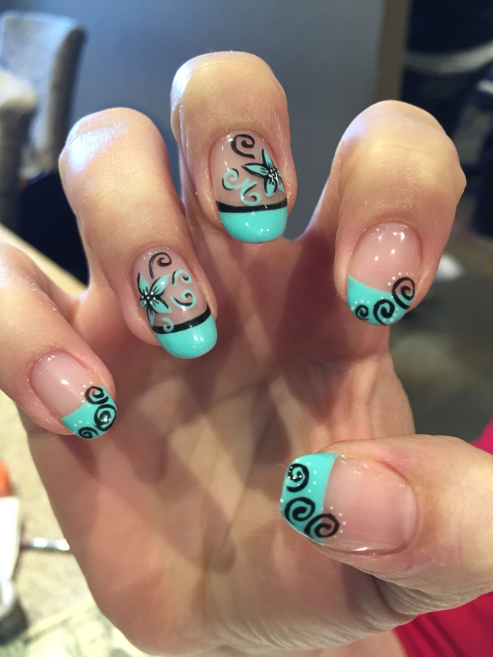 nails wishlist; fall alternating color nails | Nail colors