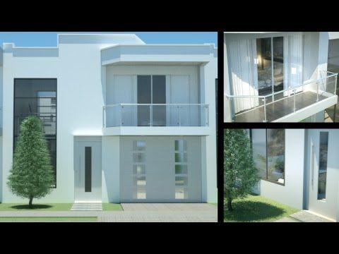 Casa moderna minimalista dise o de interiores prado verde for Diseno de interiores de casas