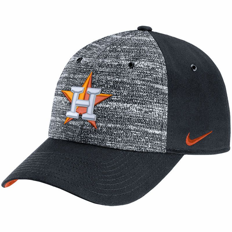 Houston Astros Nike New Day H86 Adjustable Hat - Heathered Gray/Black