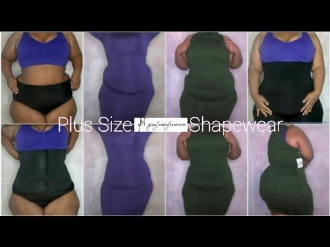 9886b392f0 Invisible Plus Size Shapewear Try-On