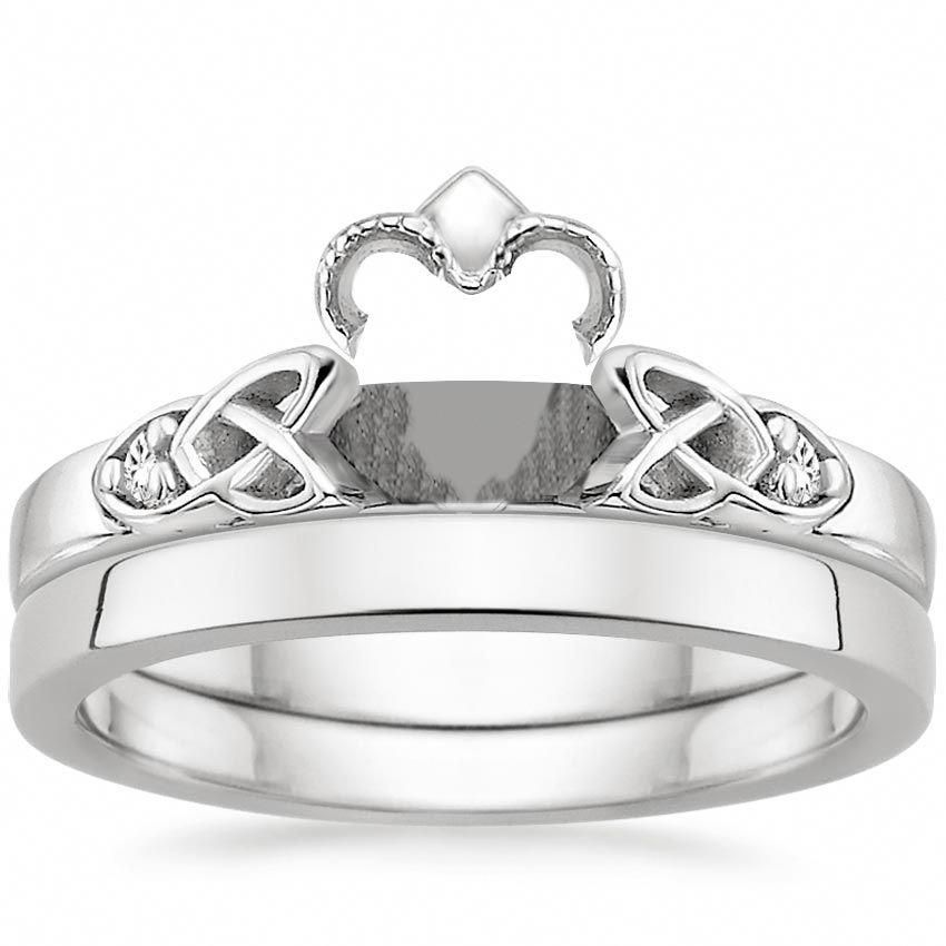 how to wear a claddagh ring if single