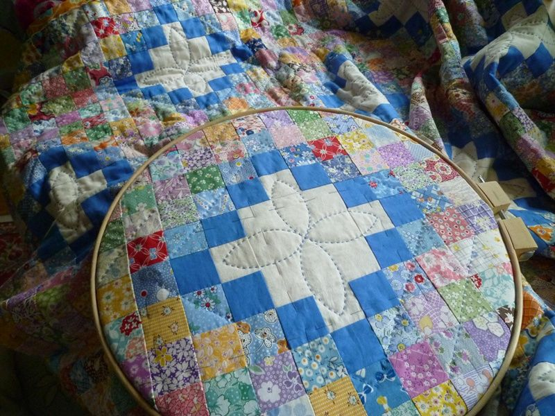 Big stitch quilting quilts hand quilting stitch
