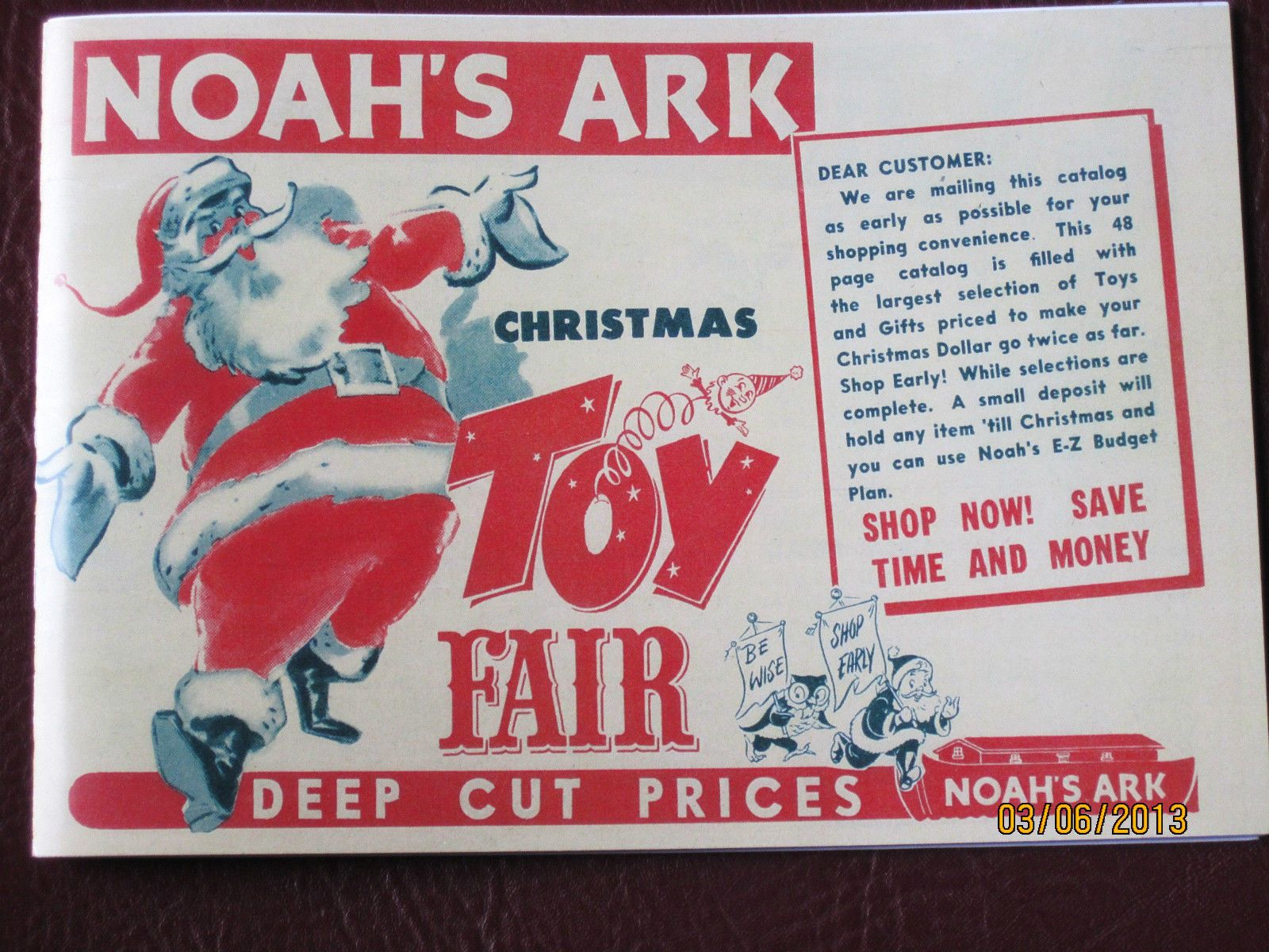 vintage 1950s noahs ark christmas toy catalog dolls pedal cars marx hubley ebay toy catalogs