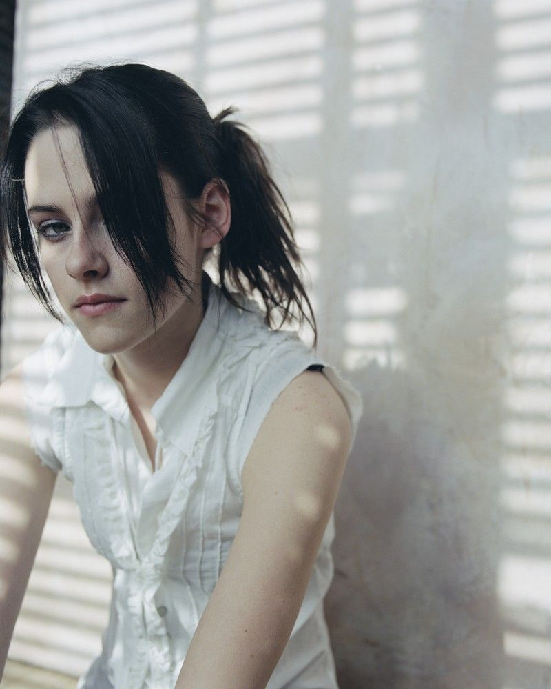 "Kristen Stewart photographed by Brigitte Sire in a photo shoot for ""Nylon"" magazine 2006......"