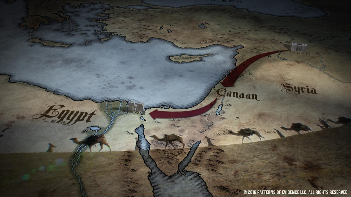 Semites Bring Wives From Harran To Egypt Secrets Of The Bible