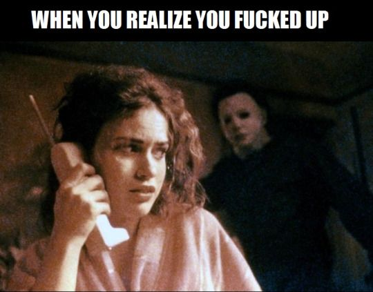 this happeneds 2 me ALL the time!!! | Scary movies, Clean ... |Its Scary Movie Time Meme