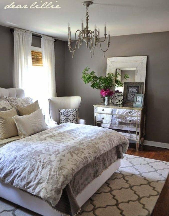 Gray Walls Grey White Bedroom Beautiful Classy Dark Walls Warm Colors Small Bedroom Decor Master Bedrooms Decor Home Bedroom