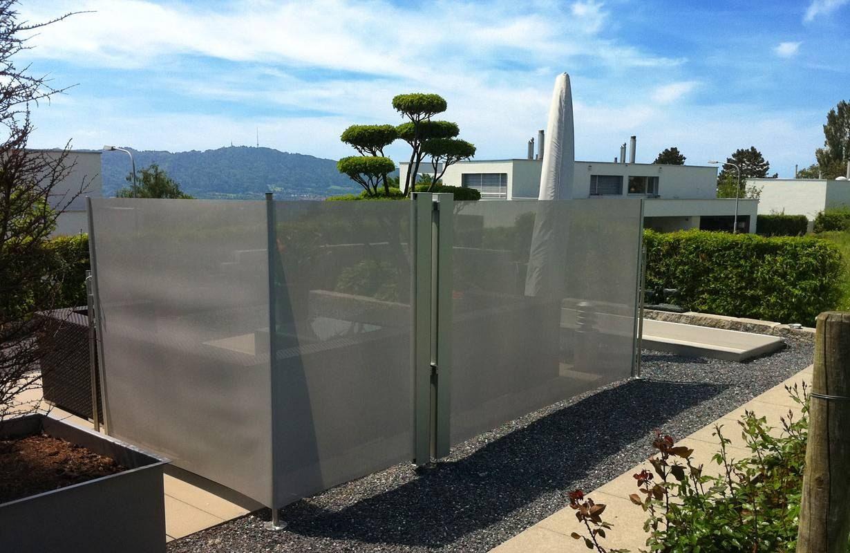 Sichtschutz Aus Stoff Für Garten Für einen stilvollen