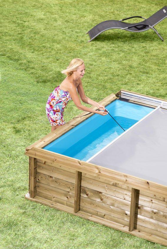 piscineitalia piscina fuori terra in legno rettangolare pistoche 2x2 b b i pool im garten. Black Bedroom Furniture Sets. Home Design Ideas