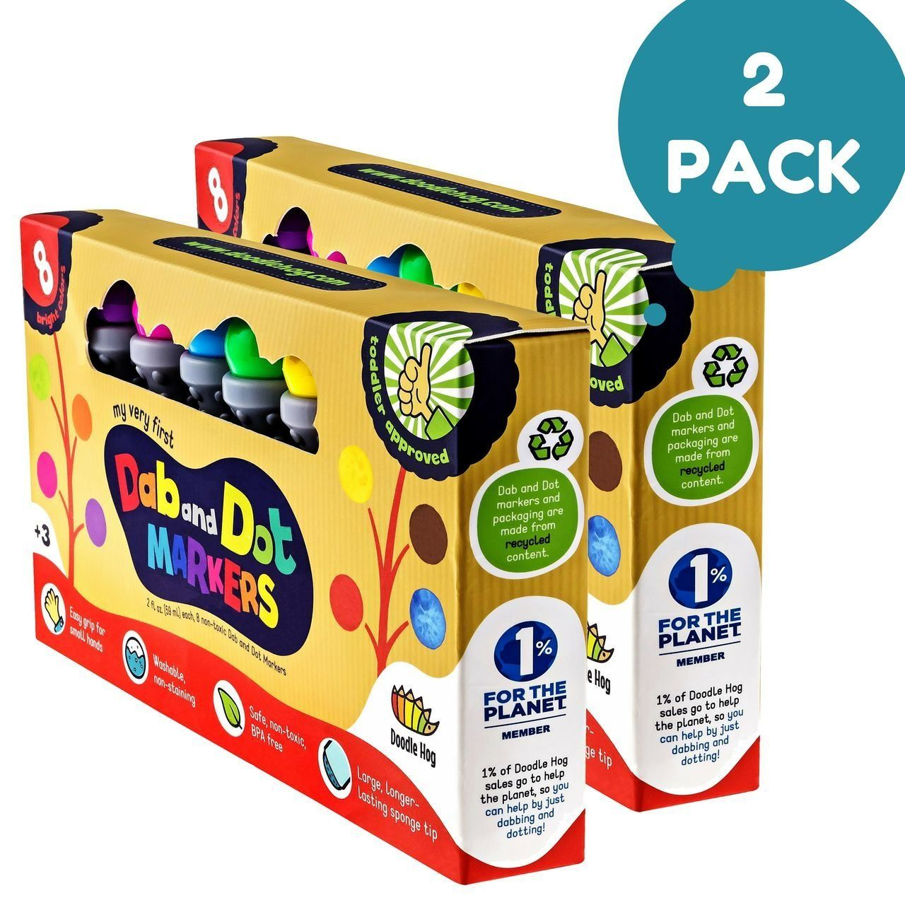 Amazon Dab And Dot Dauber Markers Set Of 8 Washable