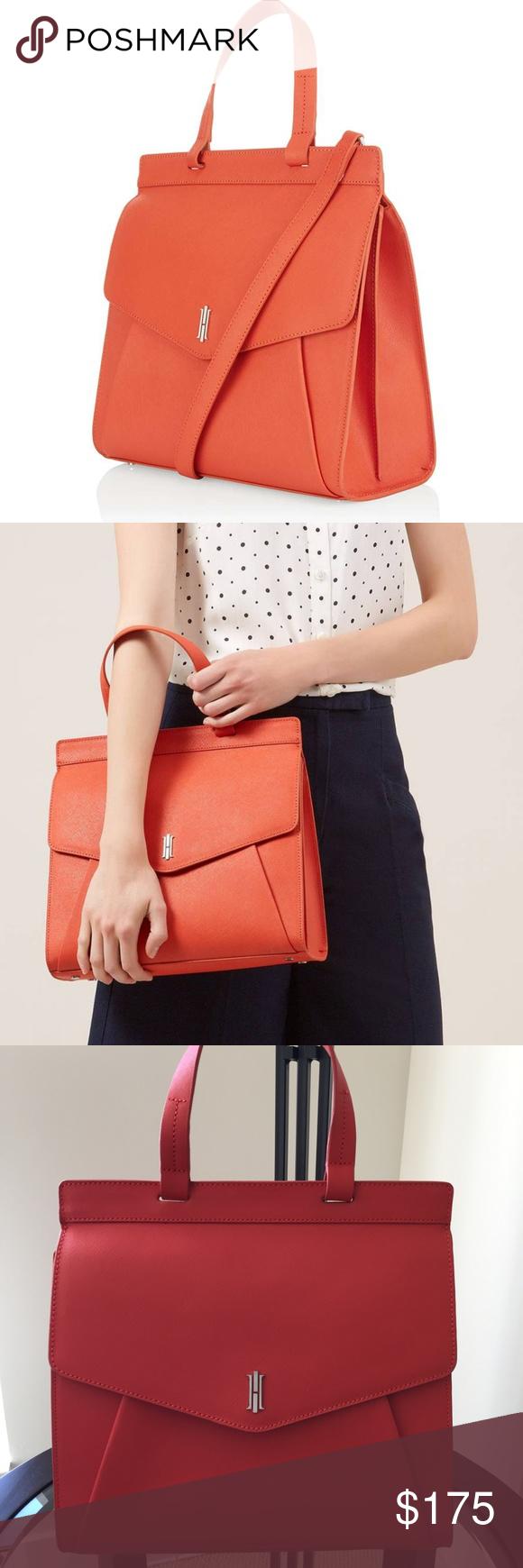 db5bbaeee206 HOBBS LONDON Orange Alderley Grab Bag - NEW. Paid £199.00 in London. Retail