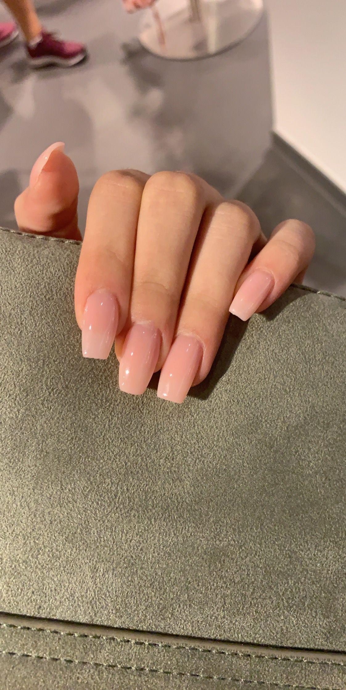 Long acrylic Natural nails nude#acrylic #long #nails #natural #nude - BestBLog