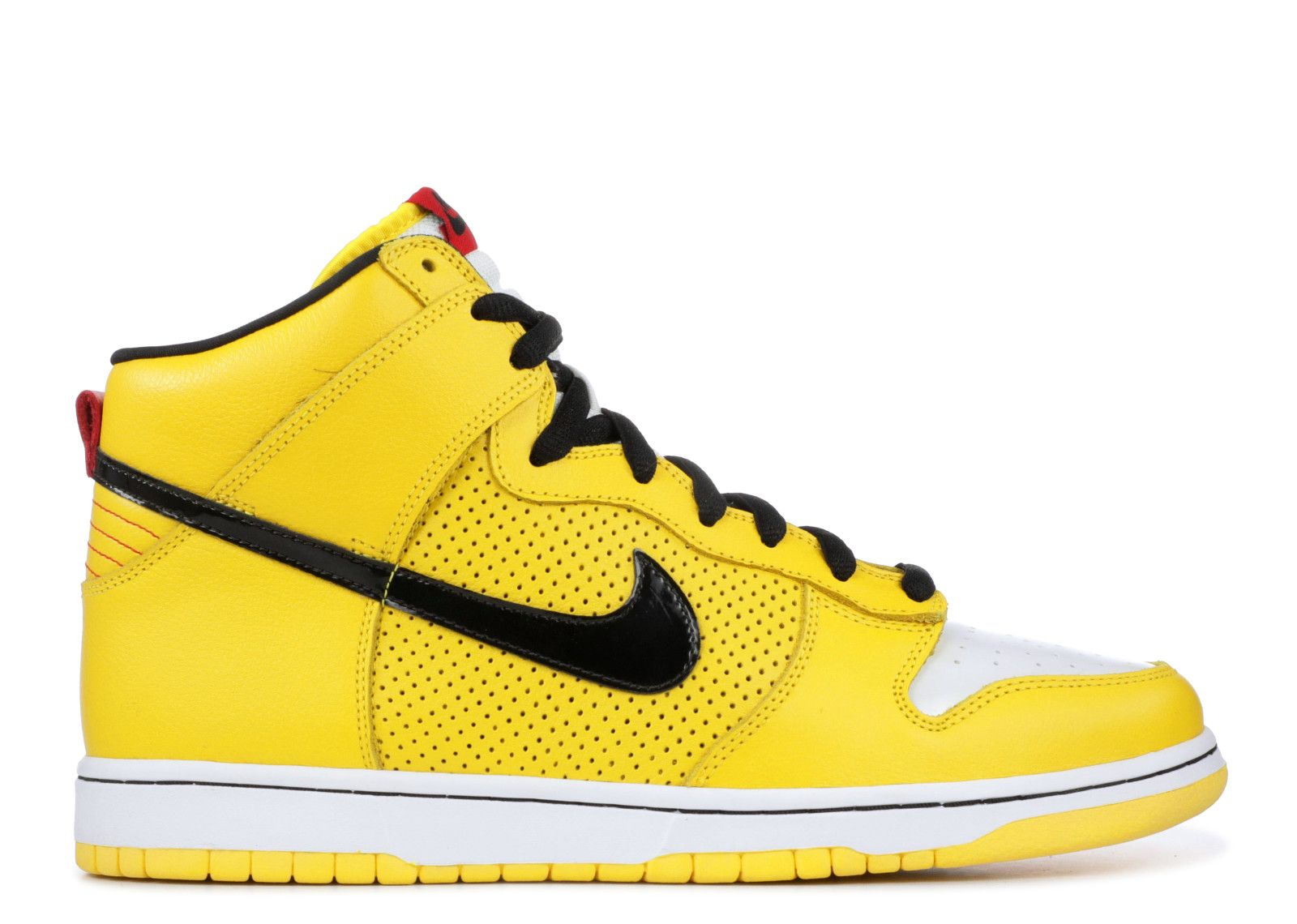 Nike Dunk High giallo