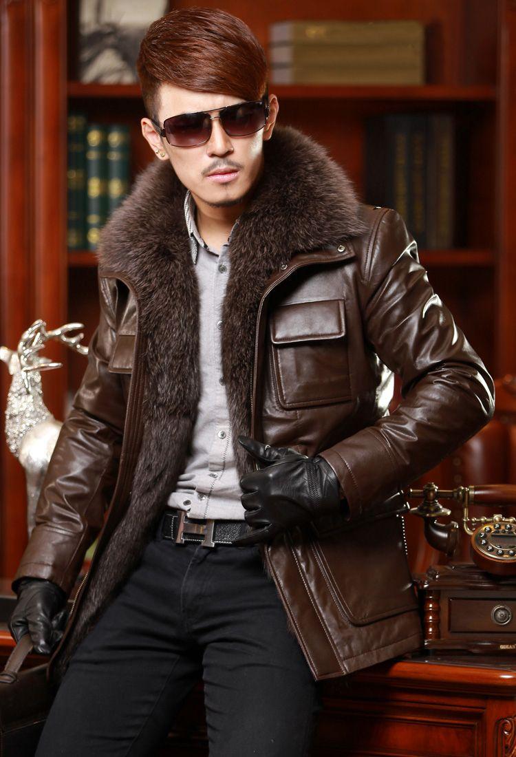 homens usando casacos de pele - Pesquisa Google