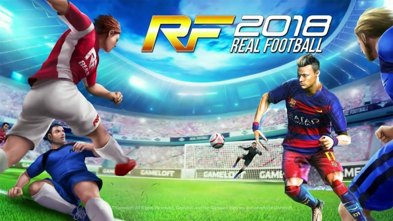 Real Football 2018 Mod Android Offline Apk Data Download