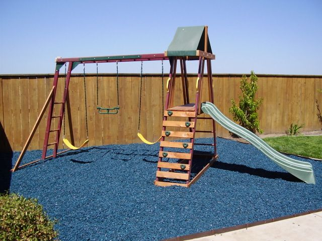 Rubber Bark By Rubber Ground Cover Rubber Mulch Shredded Rubber