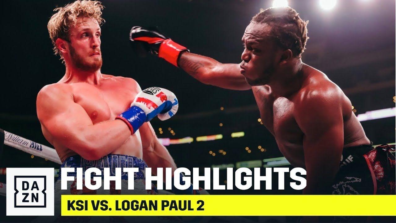 Highlights ksi vs logan paul 2 youtube logan paul
