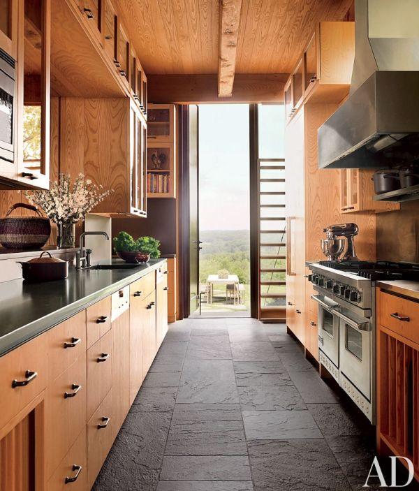 AD DesignFile   Rustic Contemporary Kitchen   New York http://www.jexshop.com/