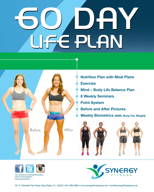 60 Day Life Plan Life Plan Health Planning Personal Training