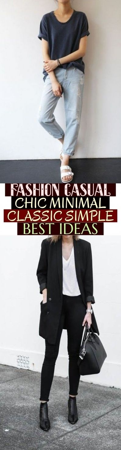Photo of Fashion Casual Chic Minimal Classic Einfach Beste Ideen, #casualoutfits mode läs …