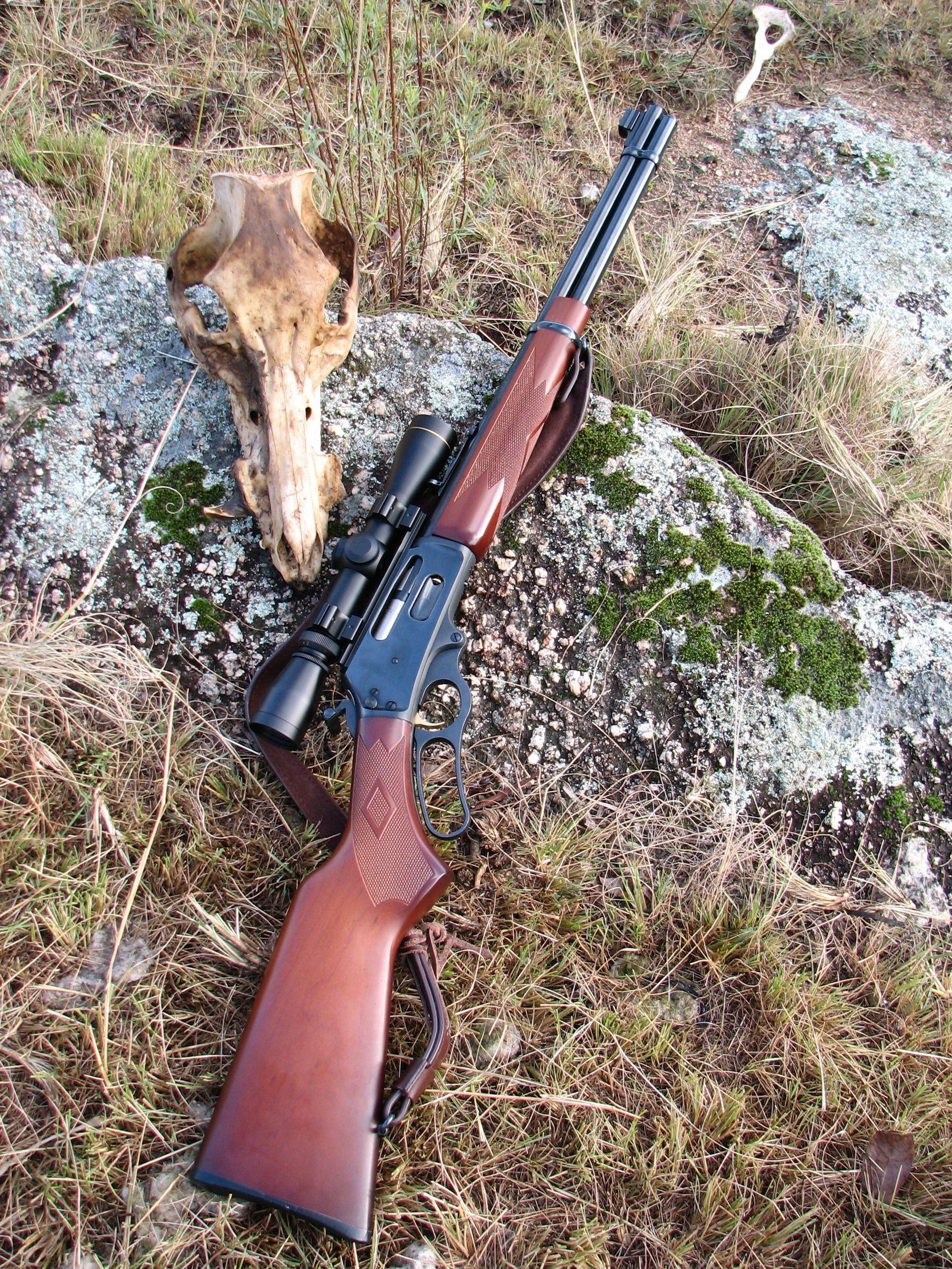 My Marlin 336W .30-30 .... no scope on mine, best all round deer & bush gun!! | Marlins ...