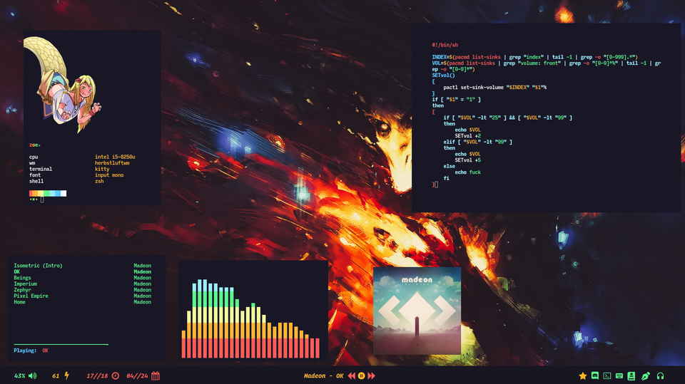 herbstluftwm] Images in terminal are hella' nice : unixporn