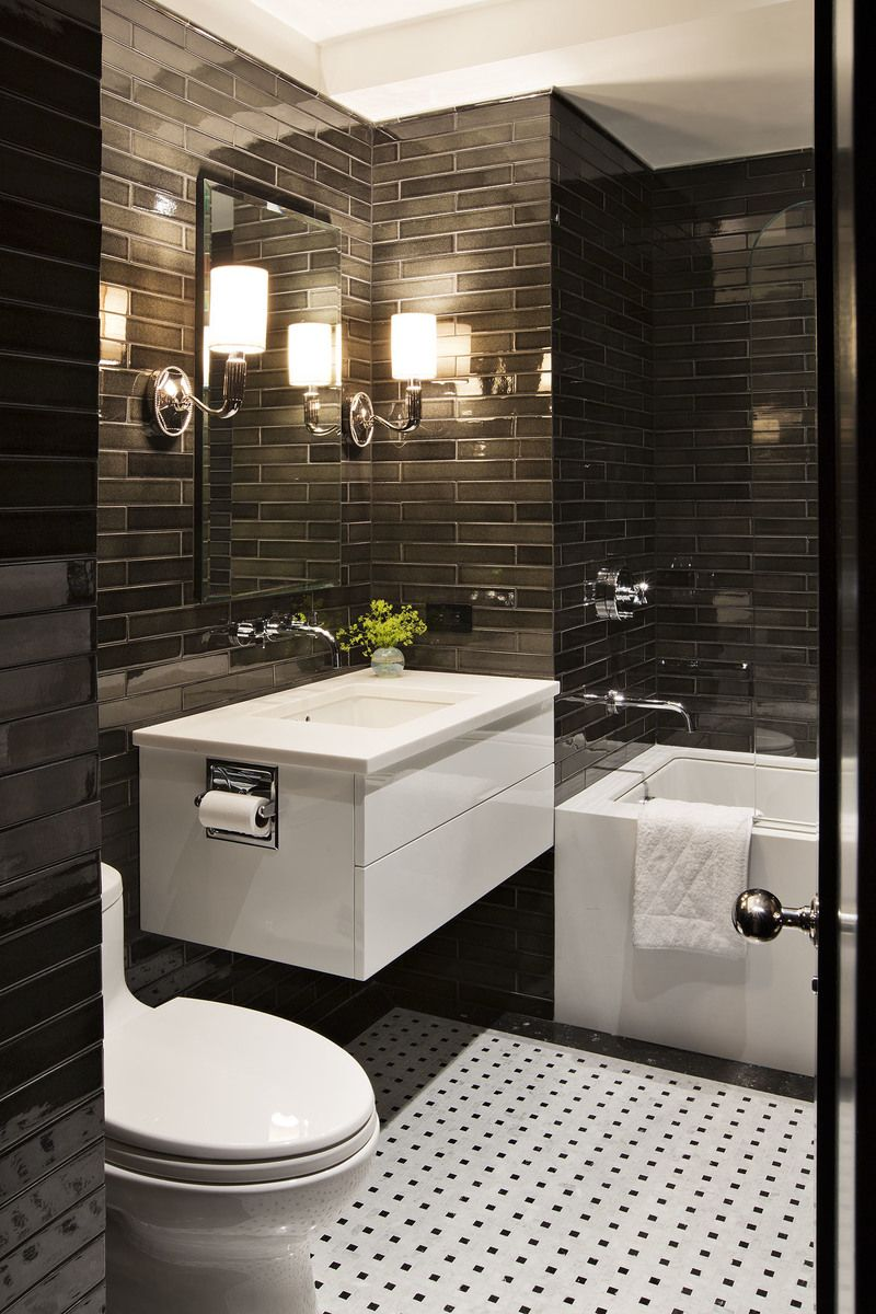 Modern Bathroom In New York Ny By Shamir Shah Design Modern