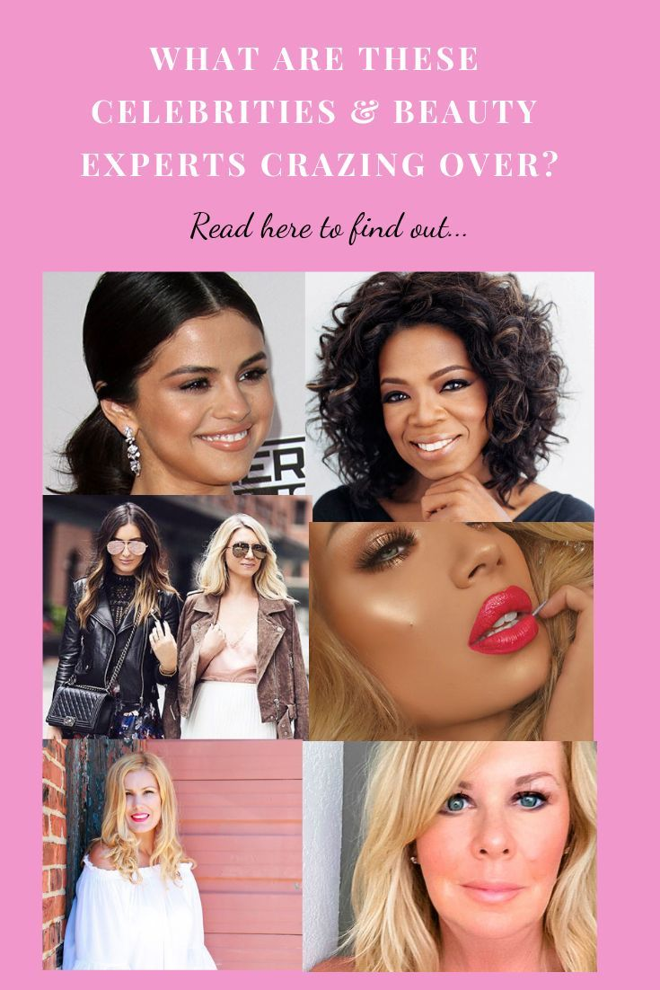What are celebrities and beauty experts and beauty