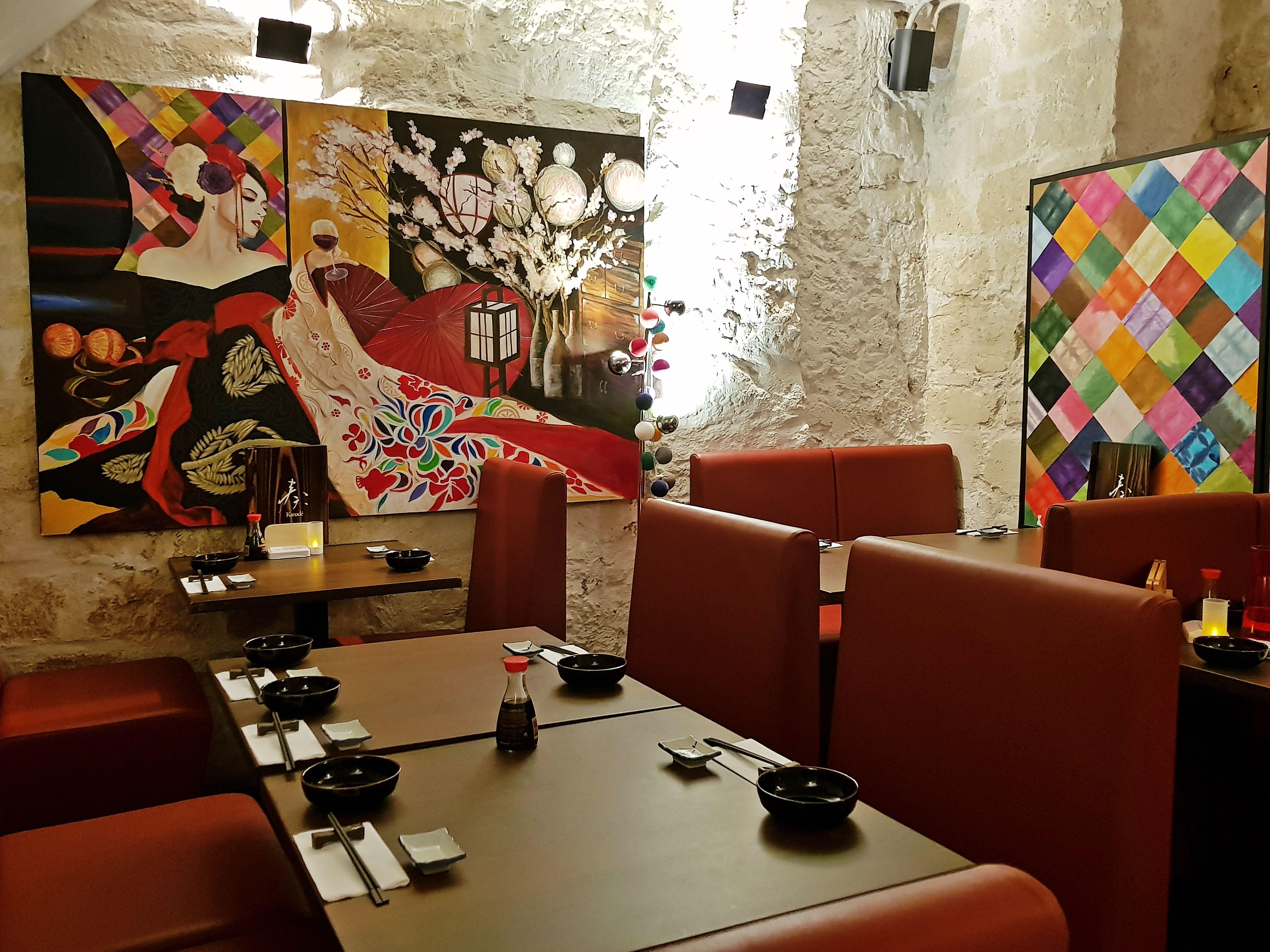 décoration japonaise restaurant