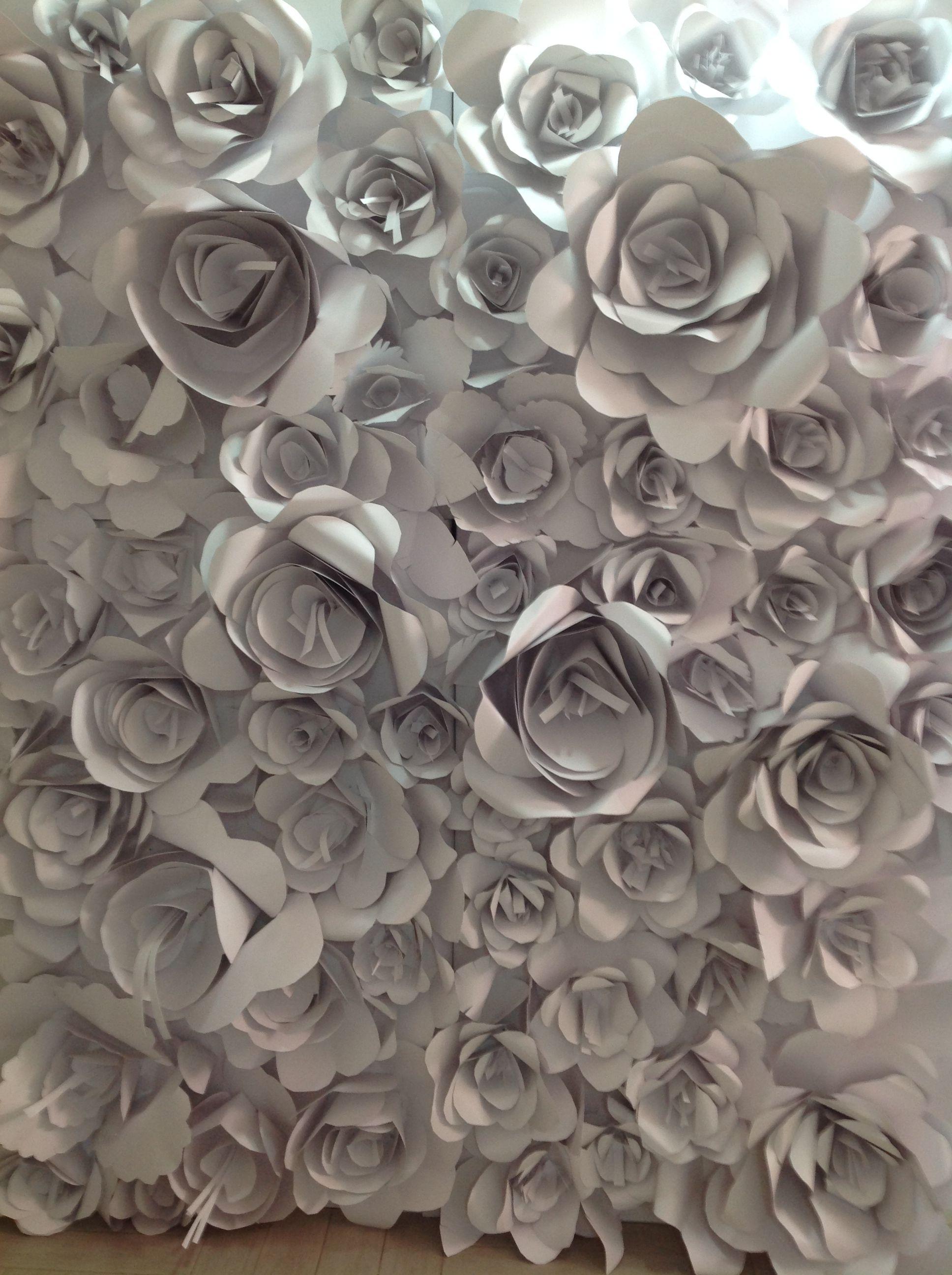 parete di carta riciclata #lolmocolmo #istagram